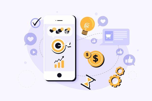 social-media-marketing-mobile-phone-concept